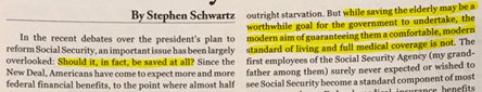 picture of an article by Stephen Schwartz